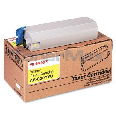 SHARP AR-C200P TONER YELLOW